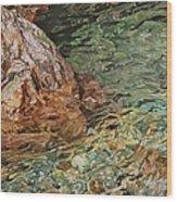Canyon Clear Wood Print