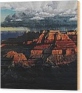 Canyon Colors Wood Print