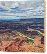 Canyon Country Wood Print