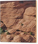 Canyon De Chelly - A Fascinating Geologic Story Wood Print