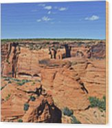 Canyon De Chelly From Sliding House Overlook Wood Print