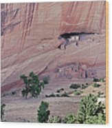 Canyon De Chelly Junction Ruins Wood Print