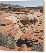 Canyon De Chelly - Land Of Standing Rock Wood Print by Christine Till