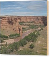 Canyon De Chelly Overview Wood Print