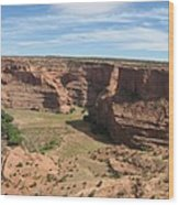Canyon De Chelly View Wood Print