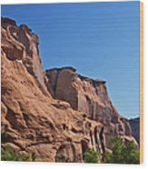 Canyon Dechelly Navajo Nation Wood Print