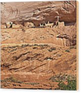Canyon Dechelly Pueblo Ruins Wood Print