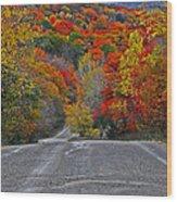 Canyon Hill Wood Print