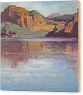 Canyon Lake Of Arizona Wood Print