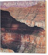 Canyon Layers Wood Print by Dave Bowman
