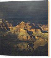 Canyon Light Wood Print