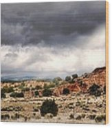 Canyon Moves Wood Print by Diana Angstadt