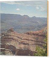 Canyon Rock Wood Print