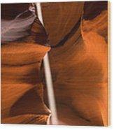 Canyon Sunbeam 2 Wood Print by Domenik Studer