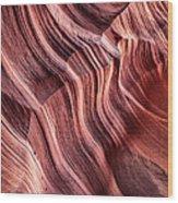 Canyon Texture Wood Print