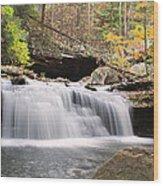 Canyon Waterfall-artistic Wood Print