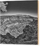 Canyonlands Cliffs Wood Print