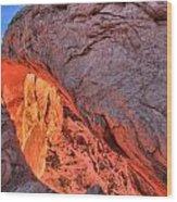 Canyonlands Orange Band Wood Print