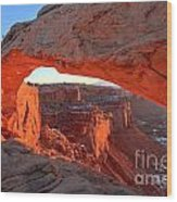 Canyonlands Spectacular Wood Print