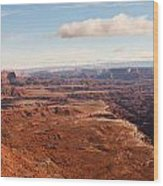 Canyonlands Wood Print