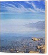 Cap Corse Under An Azure Sky Wood Print