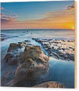 Cape Arago Orcas Wood Print