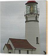 Cape Blanco Lighthouse  1 B Wood Print