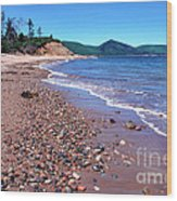 Cape Breton Island Aspy Bay Wood Print