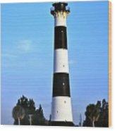 Cape Canaveral Light Wood Print