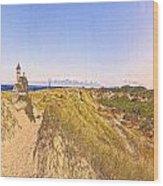 Cape Cod Americana -on Race Point Wood Print