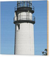 Cape Cod Highland Lighthouse Wood Print by Michelle Wiarda