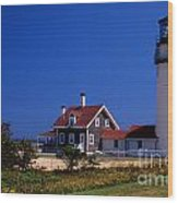 Cape Cod Or Highland Lighthouse Wood Print