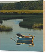 Cape Cod Quietude Wood Print