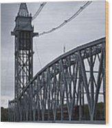 Cape Cod Railroad Bridge No. 2 Wood Print by David Gordon