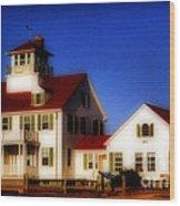 Cape Cod Wood Print