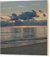 Cape Cod Sunrise Wood Print