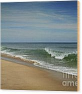 Cape Cod Waves Wood Print