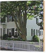 Cape Cozy Wood Print