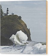 Cape Disappointment 2 B Wood Print