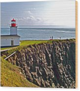 Cape D'or Lighthouse-ns Wood Print