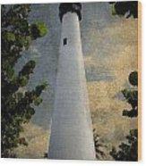 Cape Florida Lighthouse 1 Wood Print