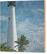 Cape Florida Lighthouse 2 Wood Print
