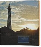 Cape Hatteras Lighthouse 1 11/05 Wood Print