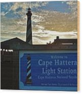 Cape Hatteras Lighthouse 2 11/05 Wood Print