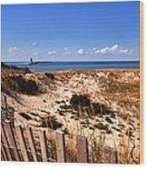 Cape Henlopen Overlook Wood Print