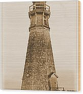 Cape Jourimain Lighthouse Wood Print