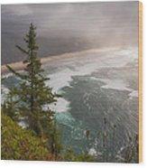 Cape Lookout Vista Wood Print