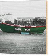Cape May Fusion Wood Print