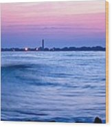 Cape May Seascape Wood Print