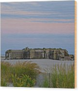 Cape May Wold War Two Concrete Bunker Wood Print